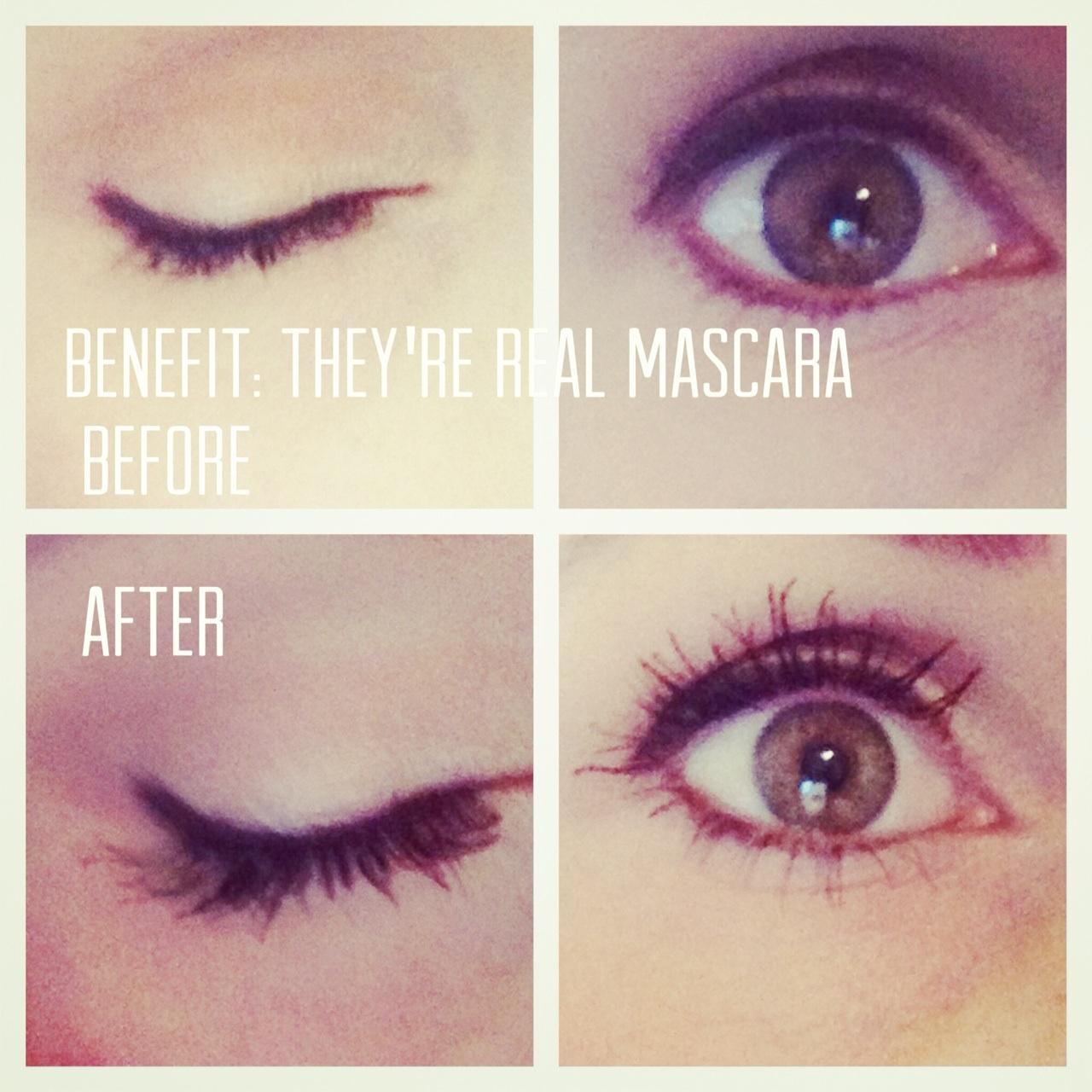 TRI-me: Benefit they're Real Mascara | Triplet Living